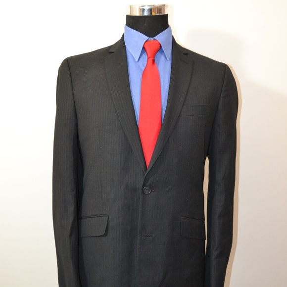 Kenneth Cole Other - Kenneth Cole 38R Sport Coat Blazer Suit Jacket Bla